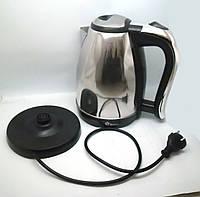 Чайник Domotec MS-5002 на 2л Нержавеющая сталь! Стильный дизайн!