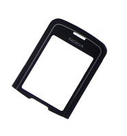 Стекло На корпус для Nokia 8600 Luna, Черный /панель  /нокиа