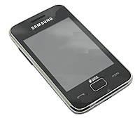Корпус для Samsung S5222 Star 3 Duos с клавиатурой, High Copy, черный /панель/крышка/накладка /самсунг