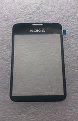 Стекло На корпус Nokia 2710 classic, Черное /панель/накладка /нокиа