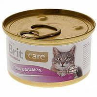 Brit Care Tuna & Salmon тунец и лосось 80гр