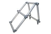Лестница складная из алюминиевой трубы Ø 32 мм