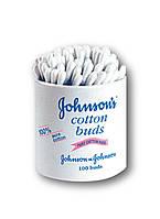 Палочки ватные Johnson's