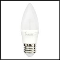 LED лампа Siriusstar С37 свеча 7W E27 4100K (1-LS-2206) 550Lm