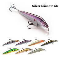 Воблер Raiden Silver Minnow  60 3,1 гр. V4