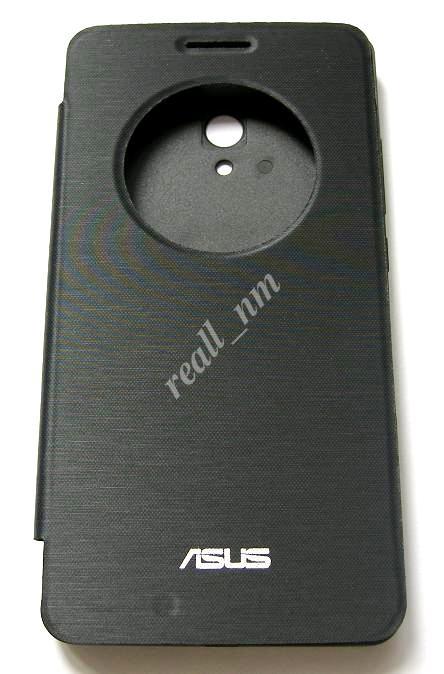 Черный чехол View Flip Cover для смартфона Asus ZenFone 6