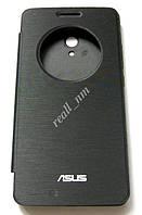Черный чехол View Flip Cover для смартфона Asus ZenFone 6, фото 1