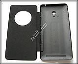 Черный чехол View Flip Cover для смартфона Asus ZenFone 6, фото 4