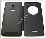 Черный чехол View Flip Cover для смартфона Asus ZenFone 6, фото 5