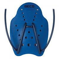 Лопатки для плавания р.M синий Beco 9644