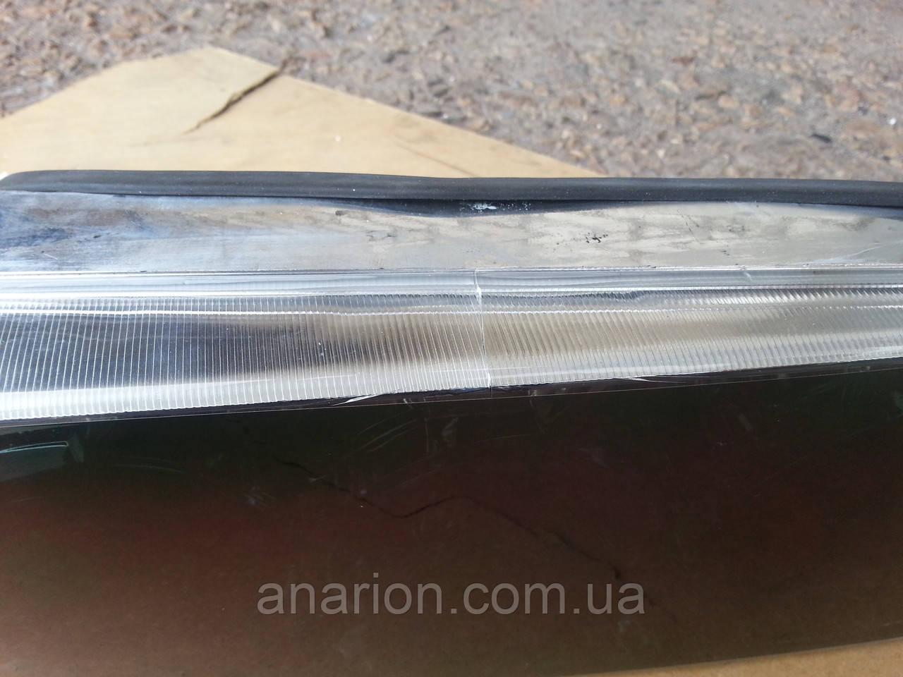 Задние фонари на ВАЗ 2109 Олимпиада (супер черные) с трещиной сбоку.