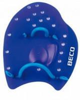 Лопатки для плавания р.M синий Beco 96441