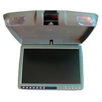 Монитор автомобильный потолочный Klyde Ultra KU 3137D DVD / USB / SD / TV GR серый