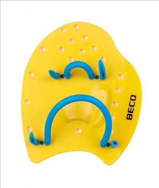 Лопатки для плавания р.S жёлтый Beco 96441