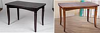 Стол Леон 1100(+400)*700мм, орех, венге