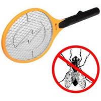 Мухобойка электрическая на батарейках от насекомых, фото 1