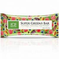 Батончик «СуперГринс Бар» SuperGreens Bar (91693) Улучшает жировой и холестериновый обмен и пищеварение