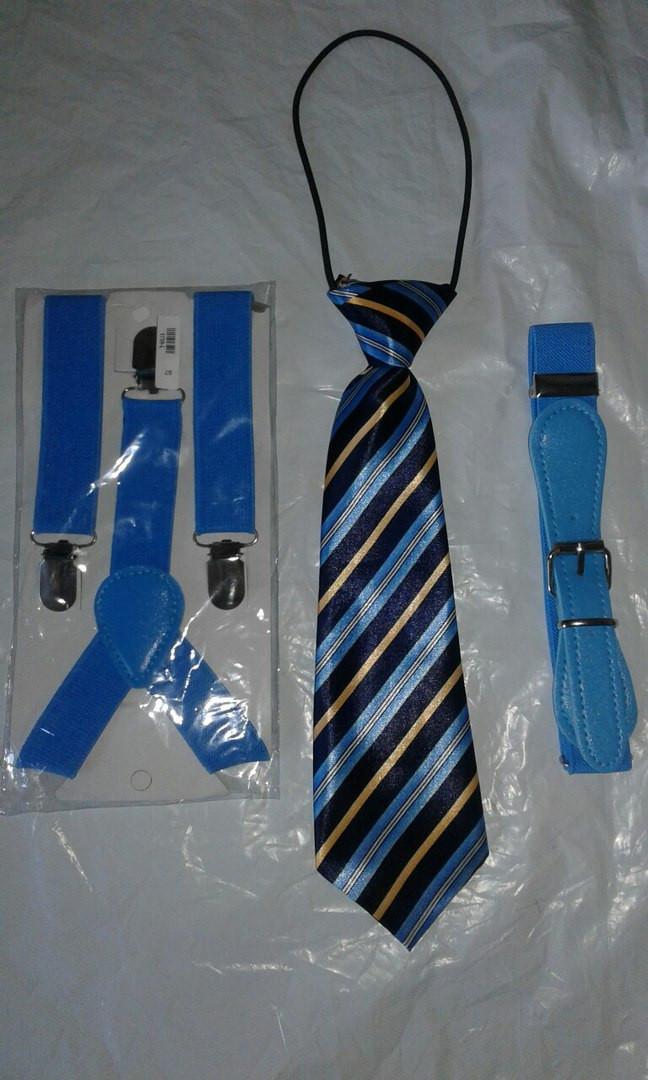 Джентльменский набор (галстук в полоску)