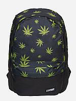 Рюкзак школьный подростковый Urban Planet 25L Weed BLK