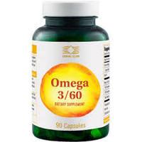 Омега 3/60 Omega 3/60 (91666) рыбий жир, витамин Е, соевое масло