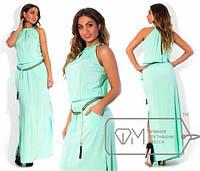 Платье длинное больших размеров  48-54 р  Глория (в ассортименте)