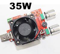 Регулируемая электронная нагрузка для USB тестера 35Вт  21В  4A