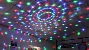 Проектор прибор со звуковой активацией Flash LED CRYSTAL BALL, фото 2