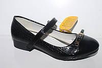 Туфли школьные на девочек от фирмы Clibee D377 черный (31-36)