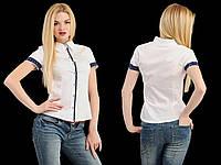 Рубашка женская с планкой в горошек, фото 1