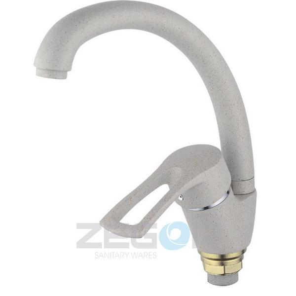Змішувач для кухні Zegor Z83-YUB4-A181-S пісочний