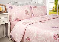 Комплект элитного постельного белья Arlina Pink 160*220.