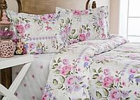 Комплект элитного постельного белья Fiore 160*220.