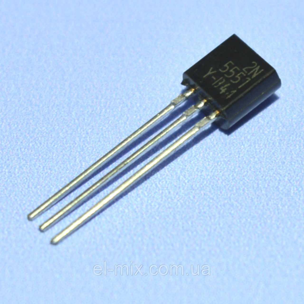 Транзистор биполярный 2N5551  TO-92  FSC