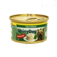 Gimpet (Джимпет) Shiny Dog. Консервированный корм для собак с курицей. 85гр