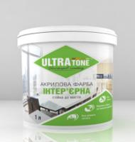 """Интерьерная краска """"ULTRAtone"""" для стен и потолков, стойкая для мытья 1,4кг"""