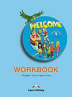 Welcome 1 Workbook (рабочая тетрадь по английскому языку)