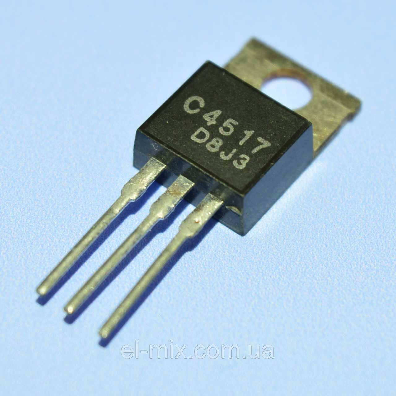Транзистор биполярный 2SC4517  Китай