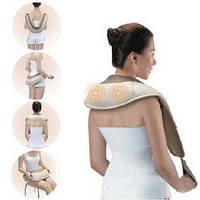 Ударный массажер для спины,плеч, и шеи CERVICAL MASSAGE SHAWLS