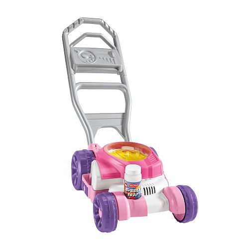 Каталка детская Фишер Прай Газонокосилка Мыльные пузыри Fisher Price Bubble Mower - Pink, фото 1