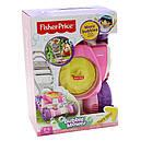 Каталка детская Фишер Прай Газонокосилка Мыльные пузыри Fisher Price Bubble Mower - Pink, фото 7