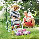 Каталка детская Фишер Прай Газонокосилка Мыльные пузыри Fisher Price Bubble Mower - Pink, фото 6