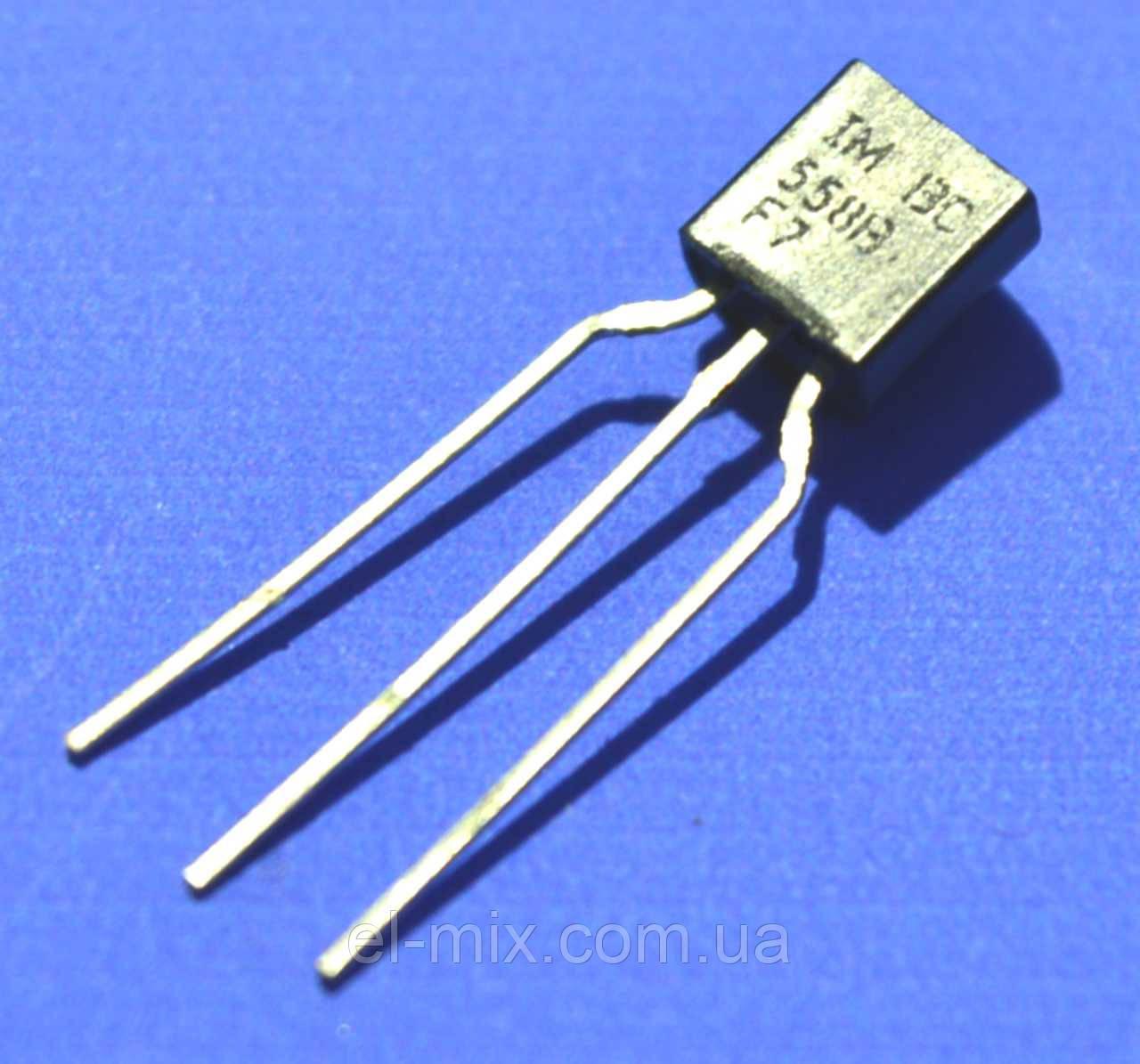 Транзистор біполярний ВС558В TO-92