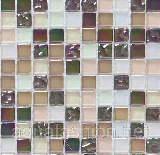 """Перламутровая стеклянная мозаика Progres HCB01 смесь цветов - Интернет-магазин сантехники """"АкваФэшн"""" в Днепре"""