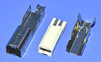 Штекер USB-В на кабель (из 3 частей) без корпуса  Китай