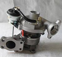 Турбокомпрессор ТКР KKK KP35. Автомобиль: Peugeot, Citroen, Ford 1.4. Двигатель: DV4TD.