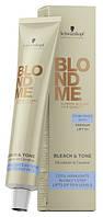 Тонер нейтрализующий для обесцвечивания волос BlondMe Bleach & Tone 60 мл