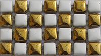 Мозаика золото с белым Vivacer HL91
