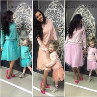 Стильная юбка Мама и Дочка  Дуэт Тренд 2016!!!