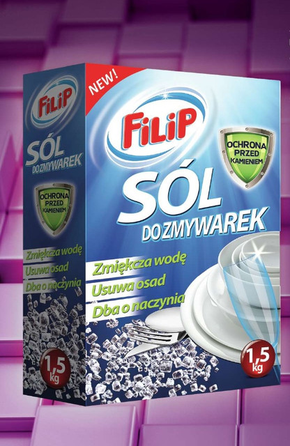 Соль гранулированная для посудомоечных машин