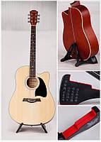 Підставка для гітари універсальна Aroma AGS-03 BK - RD